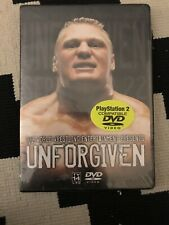 WWE Unforgiven 2002 DVD WWF Rare OOP Brand New & Sealed