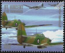 WWII RAF Hawker HURRICANE Aircraft Stamp #2 (1940-2000 Battle of Britain)