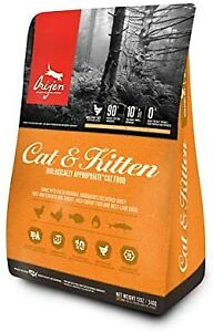 Orijen Dry Cat Food Cats & Kittens Biologically Appropriate & Grain F...