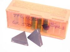 New Surplus 5pcs Carboloy Tpg 432 Grade 570 Carbide Inserts