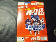 Barry Sanders  wheaties box   18 oz   wheaties champion