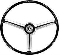 Chevy Chevelle,El Camino,Nova,Camaro,Pontiac Firebird Steering Wheel Black 1968