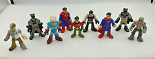 TM DC COMICS Series Figures Bulk Lot of 9 Superman Batman Robin
