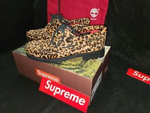 Supreme X timberland 3 Eye Lug Cheetah