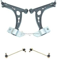 SEAT ALTEA FRONT 2 SUSPENSION WISHBONE ARMS BALL JOINTS & 2 ANTI ROLL BAR LINKS