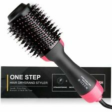 New Electric Comb 3 In 1 Professional Hair Dryer Brush Hair Straightener Curler