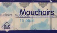 lot revendeur destockage Palette/Solderie De 150 Paquets De Mouchoirs Petit Prix