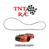 Last one I have Rear drive belt for any Thunder Drift cars Redcat r/c BS204-003