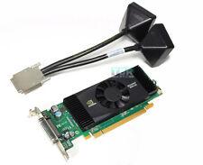 PNY NVIDIA Quadro NVS420 512MB Video Graphics Card VHDCI Quad 4 DVI Low bracket