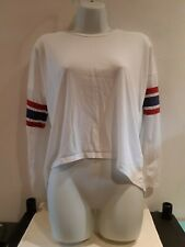 Cream Long Sleeve T-shirt.  Size 4. New Look