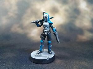 Custom Star Wars Legion Bo-Katan Kryze Female Mandalorian Miniature 3D printed