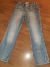 Kurz-Gr NEU!! Mandarin by heine Hellblau KP 49,90 € /%SALE/% Bootcut-Jeans