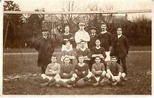 Vintage Soccer Team Photo Sport Sports Real Photo Postcard D19