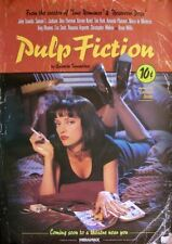Pulp Fiction Movie Film Metal Sign Advertisement wall Plaque