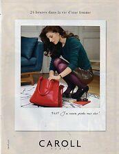 Publicité Advertising 2011  CAROLL  pret à porter collection mode accessoires ..