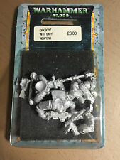 CITADEL MINIATURES - WARHAMMER 40000 40K ORK BOYZ HEAVY WEAPON NUOVO IN BLISTER