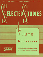 """RUBANK """"SELECTED STUDIES"""" FOR FLUTE MUSIC BOOK BRAND NEW ON SALE INSTRUCTIONAL!!"""