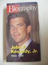 Biography: John F. Kennedy Jr.: 1960-1999 (VHS, 1999)