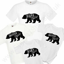 Baby Bear And Daddy Bear T-Shirt / Baby Grow Set - Dad and Child / Baby Set