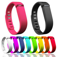 1x Replacement Wrist Band w/Clasp For Fitbit Flex Bracelet NE Random color