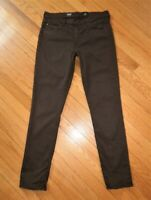 AG Adriano Goldschmied THE PRIMA Mid Rise Cigarette Jeans Dark Oakwood Brown 29