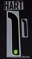 Inglaterra Hart 1 Camiseta de fútbol nombre/número de casa Sporting Id Reproductor De Tamaño