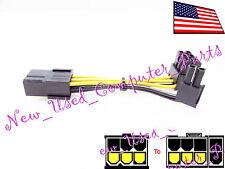 ➨➨➨ LOW PROFILE FLAT TOP PCI-E (6+2) 90 DEG FRONT ➨➨➨
