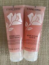 Lancome Hydrazen Jelly Mask & Sugar Rose Scrub 2 For The Price Of 1