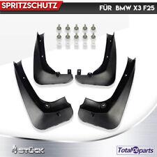 4x Spritzschutz Karosserie Fender Vorne & Hinten für BMW X3 F25 2010-2017 SUV