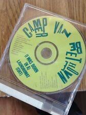 CAMPER VAN BEETHOVEN I Was Born In A Laundromat Single Promo Not For Sale