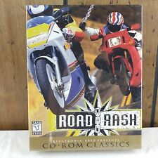 ROAD RASH Motorcycle Racing Game for PC CD-ROM 1996 New Sealed RARE Windows 95