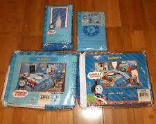 Thomas The Train Bedroom Bedskirts Twin & Full, Pillow Sham & Draperies New