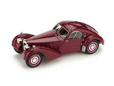 Bugatti Type 57-S Atlantic 1938 Amaranto 1:43 Model BRUMM