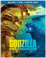 Godzilla King of the Monsters Blu-Ray Brand New Free Shipping