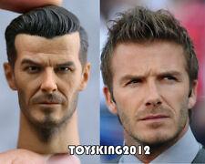 "Custom 1/6 Scale David Beckham Action figure man Head sculpt fit 12"" toy body"