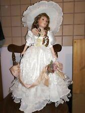 Bambola in Porcellana altezza 60 cm come nuova