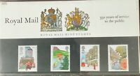 1985 ROYAL MAIL 350 YEARS ROYAL MAIL MINT STAMPS PRESENTATION PACK No.163