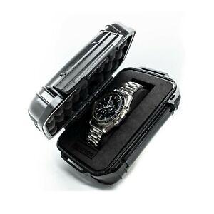 Renitor Single Watch Travel Case Storage Box Waterproof Shockproof