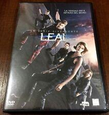 SERIE DIVERGENTE LEAL - 1 DVD + EXTRAS - COMO NUEVO - 115 MIN CASTELLANO INGLES