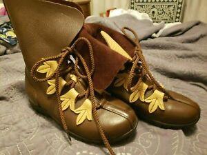 Son of Sandlar TX Renaissance Fair custom boots Brown Womens