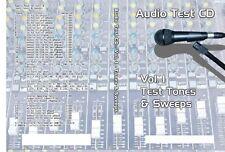 Audio Speaker Sub Woofer Test & Alignment CD Single