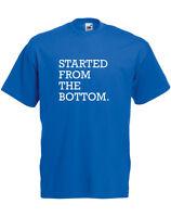 Started From The Bottom, Drake inspired Men's Printed T-Shirt