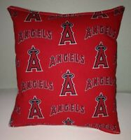 Angels Pillow Los Angeles Angels Pillow MLB Handmade in USA Pillow