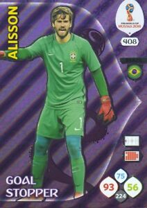 Adrenalyn XL FIFA World Cup 2018 Russia - Power 4, Goal Stoppers, Rising Stars