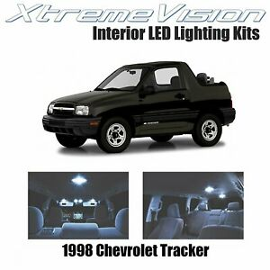 XtremeVision LED for Chevrolet Tracker 1998 (5 Pieces) Cool White Premium Interi