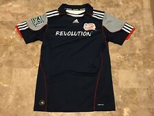 Kids 2011-2012 Adidas New England Revolution Blue Soccer Jersey Youth Size Large