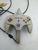 Power Joy Classic Tv Game Console System Controller Cartridge Plug & Play Vtg