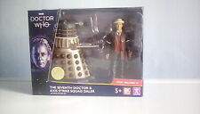 The Seventh Doctor & Axis Strike Squad Dalek    -  Dr Who Action Figure Set