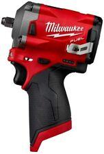 "Milwaukee 2554-20 M12 FUEL Stubby 3/8"" Impact Wrench - FreeShipping"