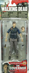 """THE GOVERNOR 5"""" /12cm (SERIES 4) THE WALKING DEAD McFARLANE TOYS AMC TV SERIE"""
